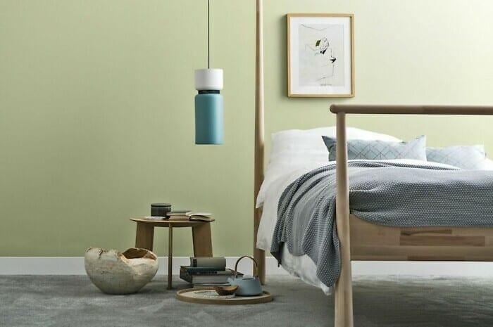 Wandfarben beeinflussen das Wohnraumklima