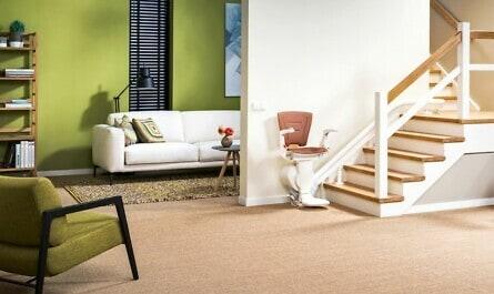 Treppenlift für kurvige Treppen
