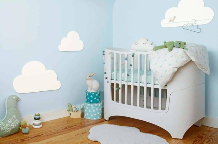 Wandgestaltung für das Babyzimmer