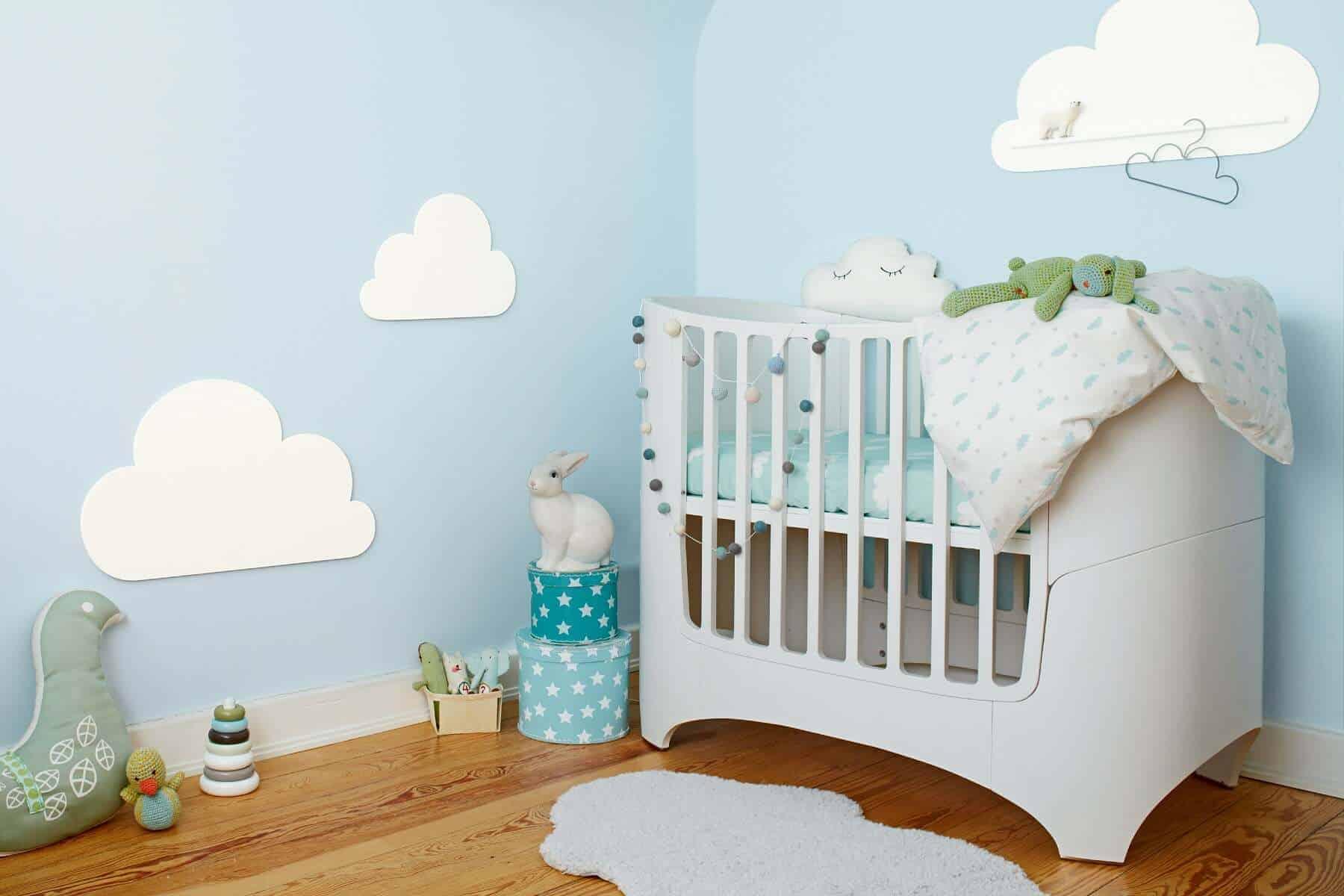 Wohngesunde Wandgestaltung für das Babyzimmer