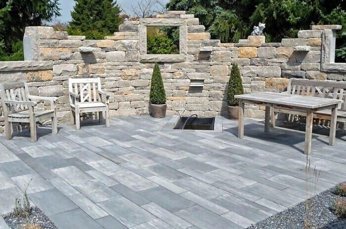 Betonsteine für Terrasse und Wege