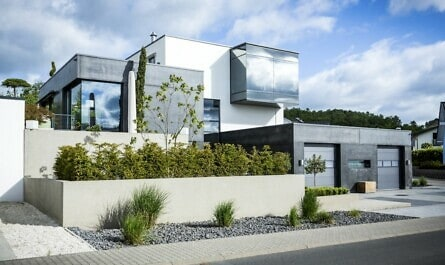 Moderne Villa aus Beton