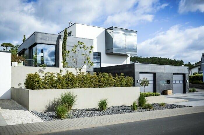 Ein Haus aus Beton punktet