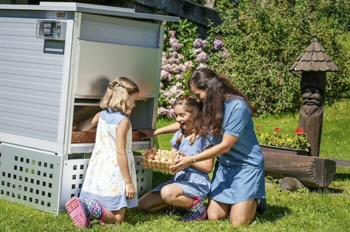 Ein Hühnerstall für den eigenen Garten