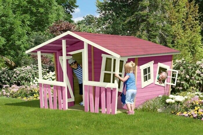 Kunterbunte Spielhäuser