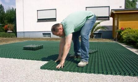 Rasenplatten für den Vorgarten