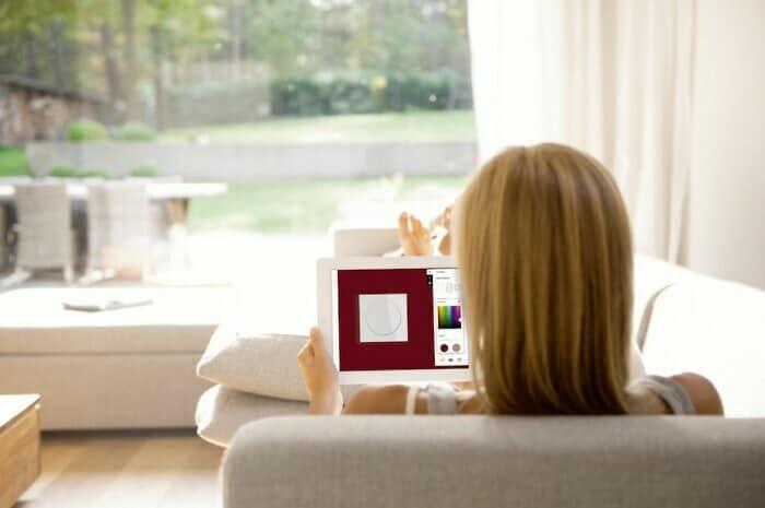 Innovative Schalter-App