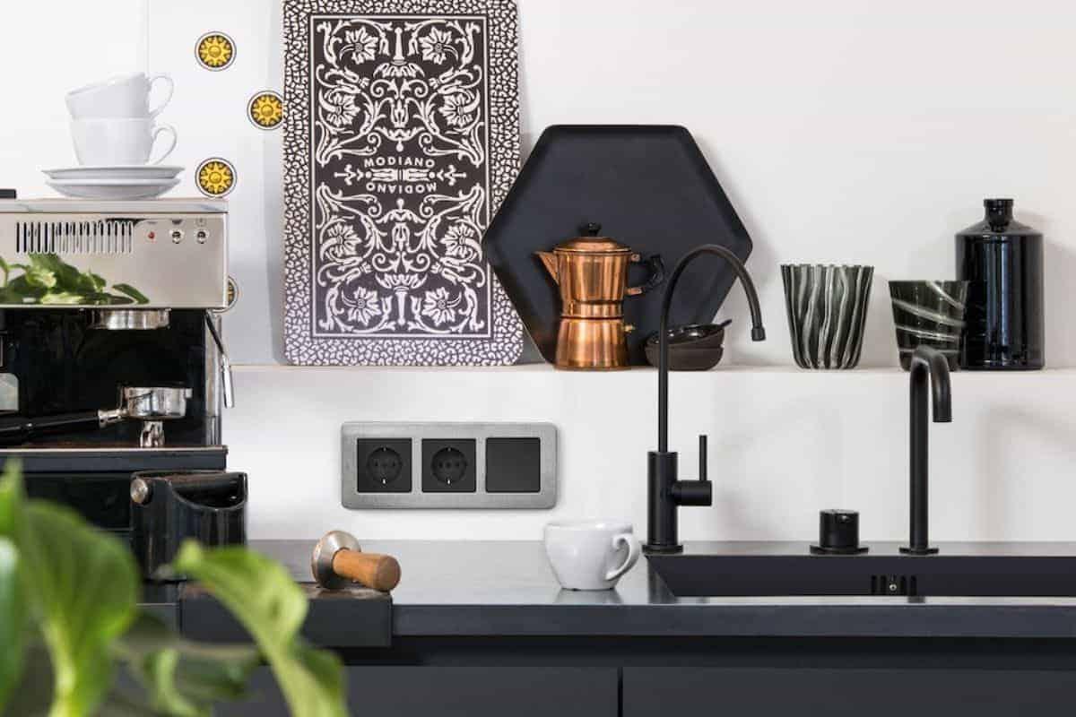 Schalter in der Küche