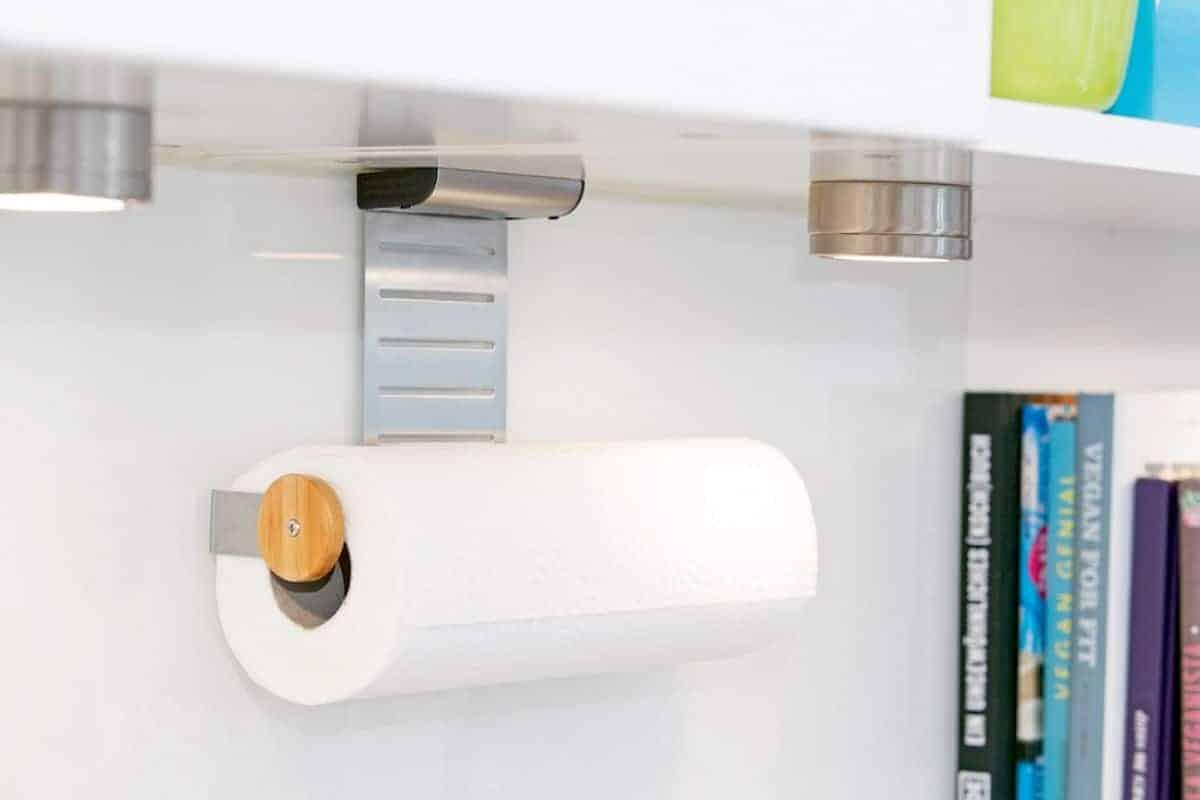 Design-Halterung für Küchenrolle