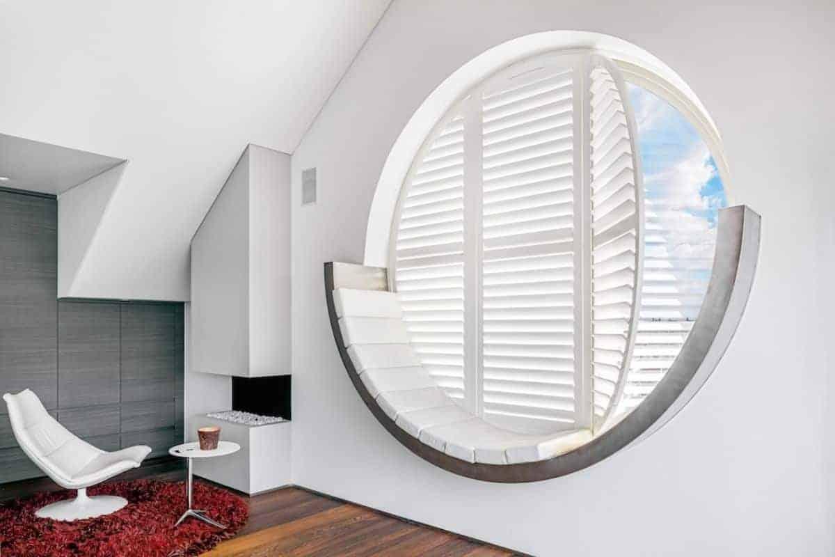 Runde Innenfensterläden