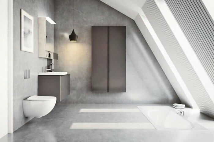 Badeinrichtung auf die individuelle Art