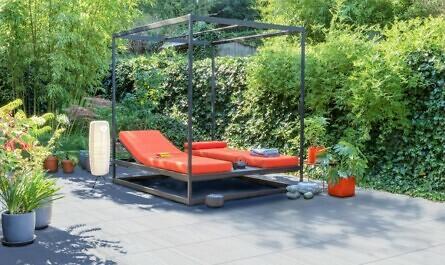 Terrassenplatten aus Beton