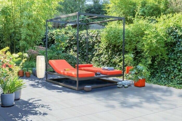 Stilvolle Terrassenplatten aus Beton
