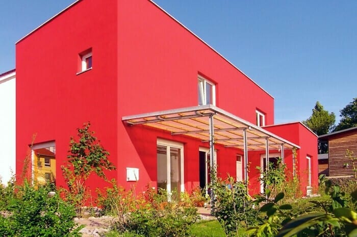 Ein Haus aus Mauerwerk senkt die Heizkosten