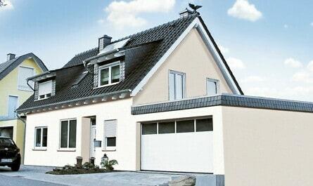 Wohnhaus aus massivem Mauerwerk