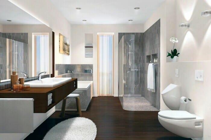 Frische Luft in Bad und WC