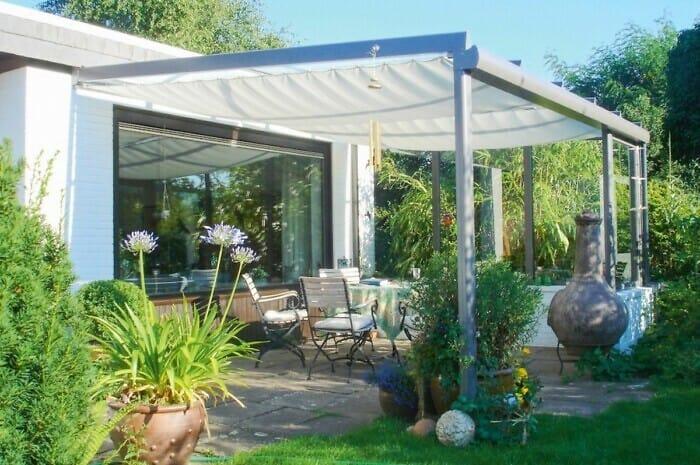 Beschattungssysteme für Sonnen- und Regenschutz