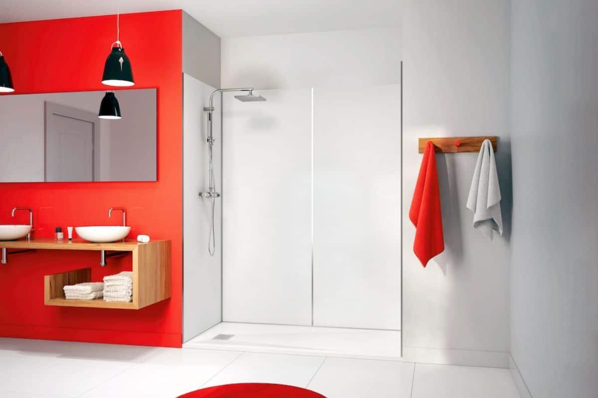Wasserdichte Wandpaneele für die Dusche