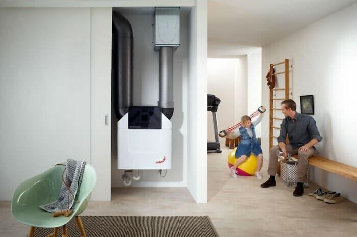 Digitale Wohnraumlüftung