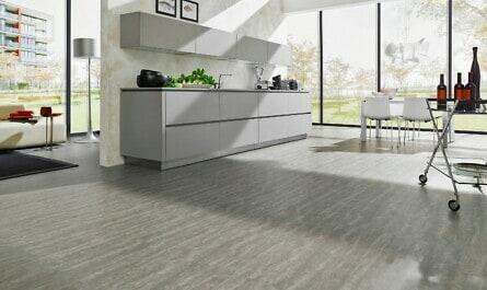 Parkettboden in der Küche