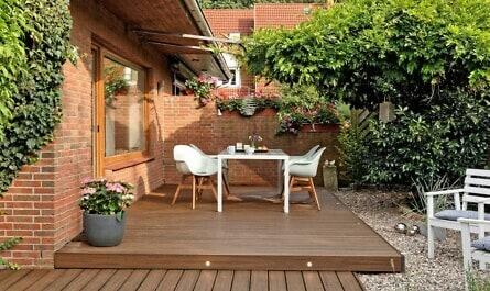 Nachhaltige Terrassendielen