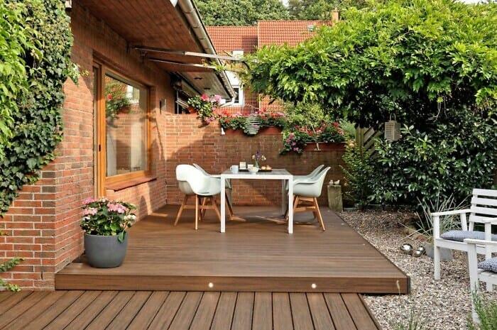 Nachhaltige Terrassendielen finden