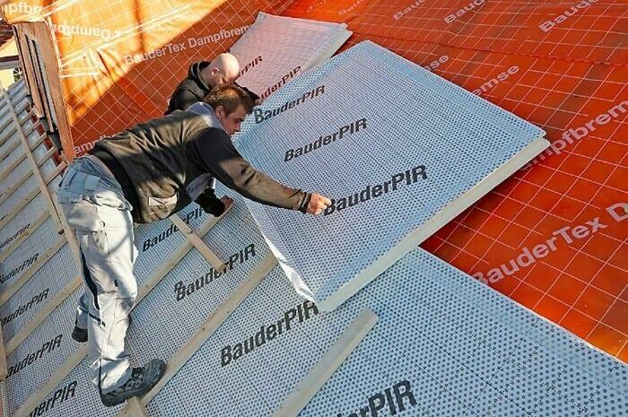 Wirksame Wärmedämmung fürs Dach