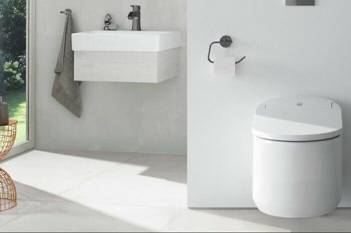 5 smarte Vorteile eines Dusch-WCs