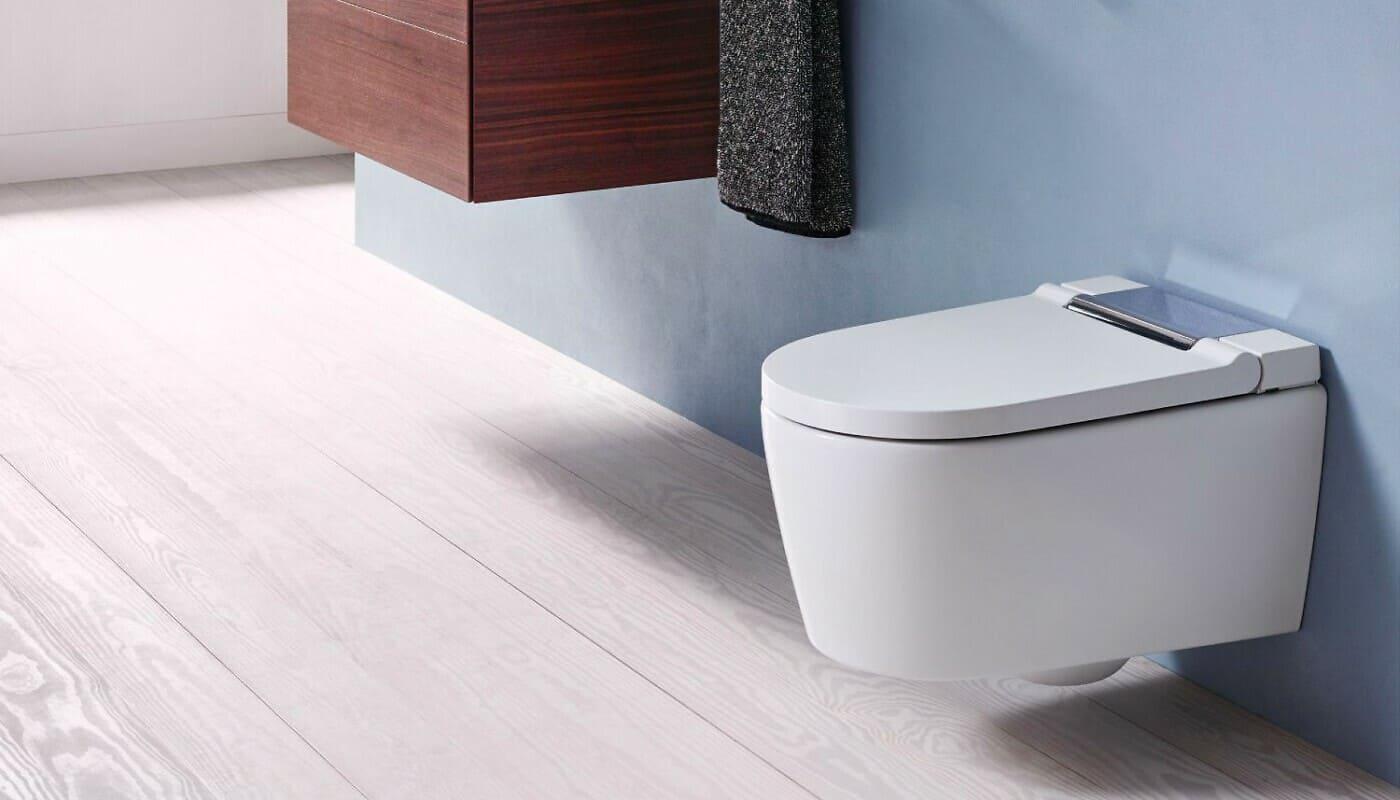 Dusch-WC im Badezimmer