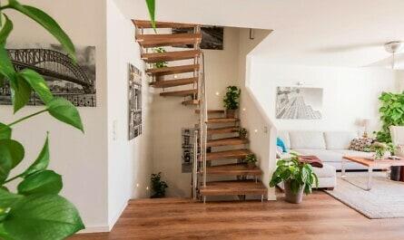 Treppe mit Longlife Lofteiche